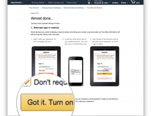 The Easy Way To Secure Your Amazon Account